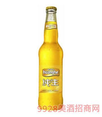 黄河啤酒水晶纯生500mlx12