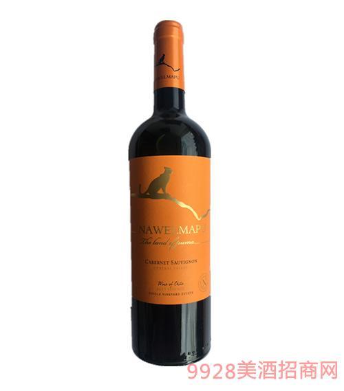 猎豹赤霞珠干红葡萄酒