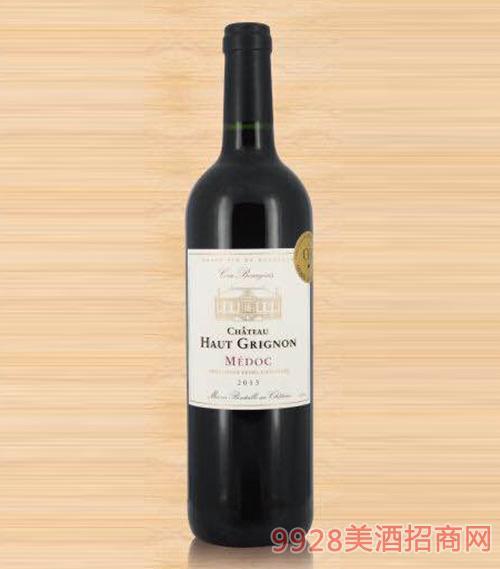 法国歌龙城堡红葡萄酒
