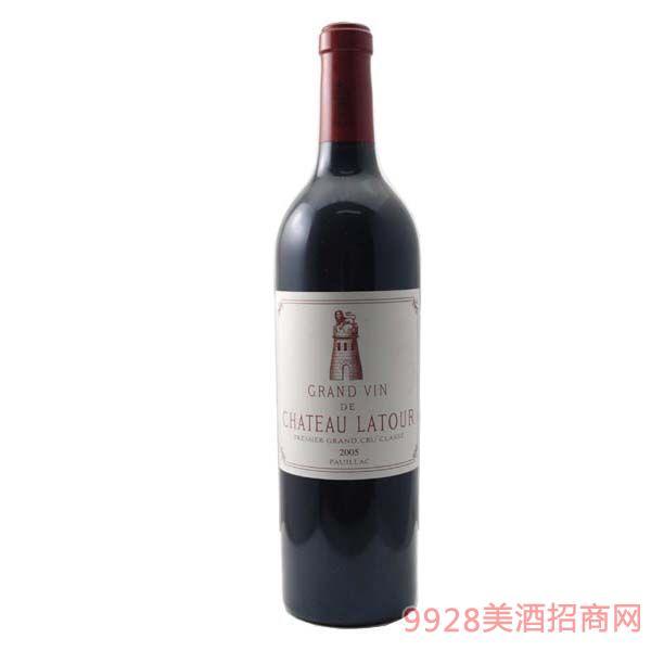 拉图庄园2005年红葡萄酒750ml