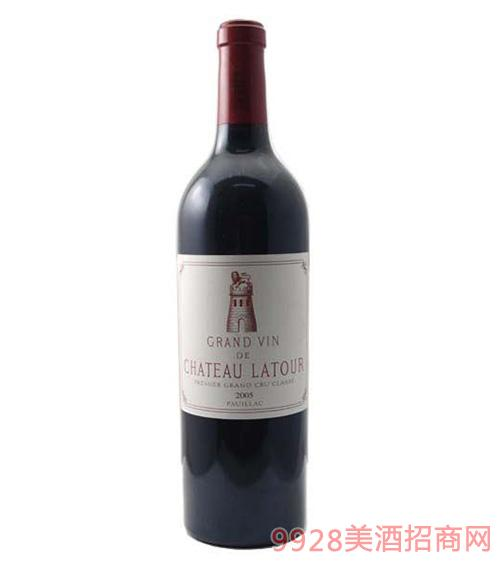 拉图庄园干红葡萄酒2006葡萄酒13度750ml