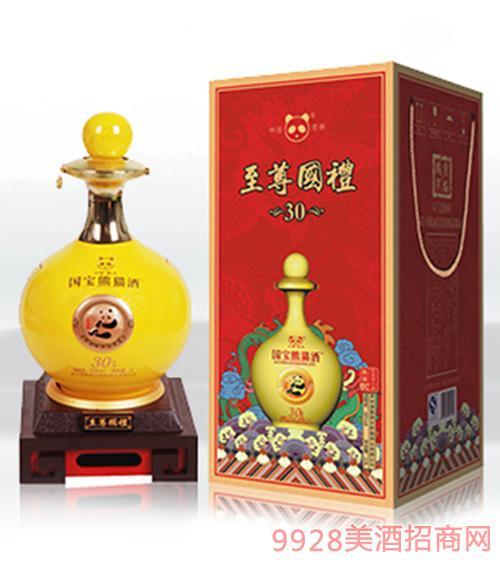 国宝熊猫国礼黄坛5斤装