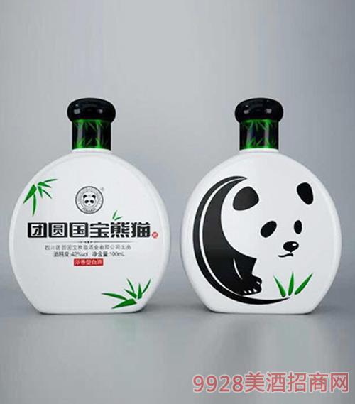 团圆国宝熊猫酒