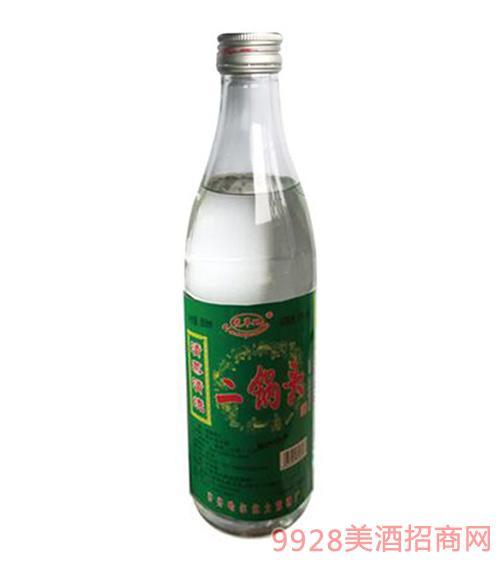 二锅头酒绿标