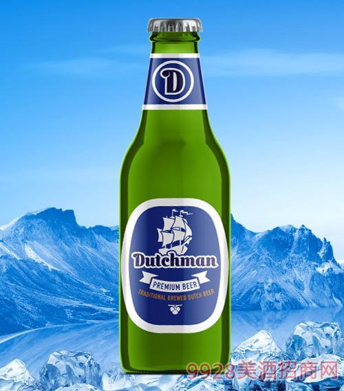荷兰原装进口硬汉啤酒250ml
