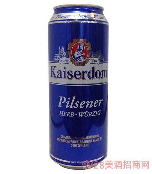 凯撒黄啤酒500ml