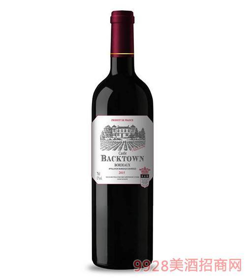 小柏桐古堡干红葡萄酒13度