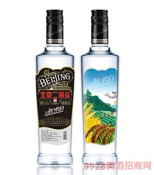 北京二锅头优良白酒42度500ml