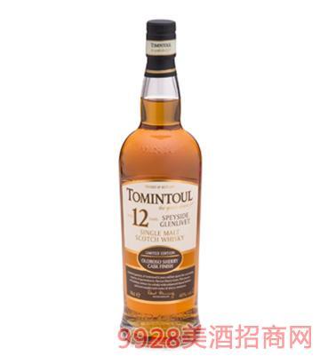 托明多12年单一麦芽威士忌