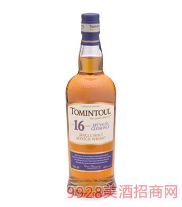 托明多16年单一麦芽威士忌