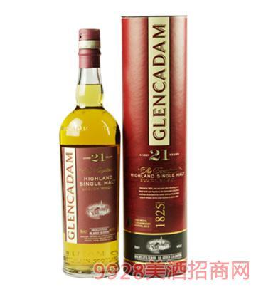 格兰卡登21年单一麦芽威士忌