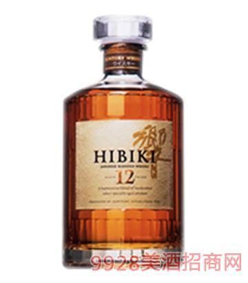 响威士忌12年