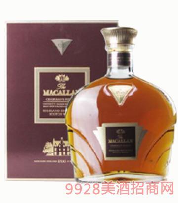 麦卡伦1700系列鉴赏家之选紫钻单一麦芽苏格兰威士忌