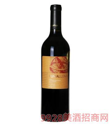 激情月光西拉赤霞珠干红葡萄酒