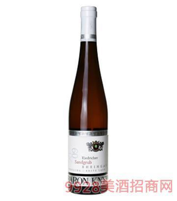 男爵庄园首选雷司 令半甜白葡萄酒