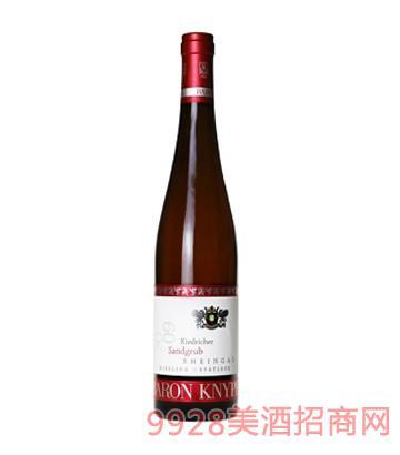 男爵庄园雷司 令晚收型甜白葡萄酒