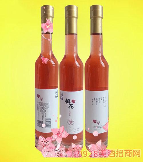 黄氏冰酒瓶桃花酒