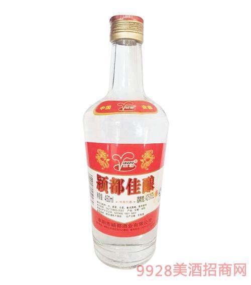 颍都佳酿酒42度450ml