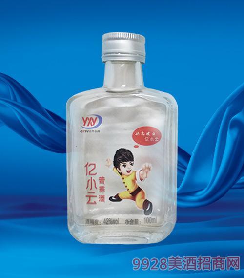 亿小云苦荞小酒42度100ml