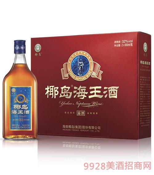 椰岛海王酒(礼盒装)600ml