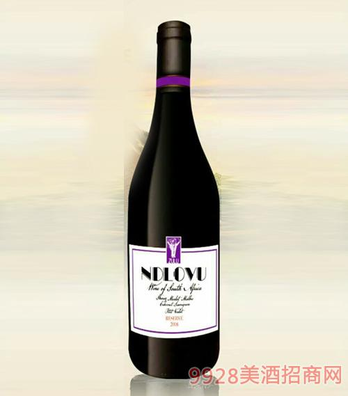 南非神象紫牌珍藏干红葡萄酒