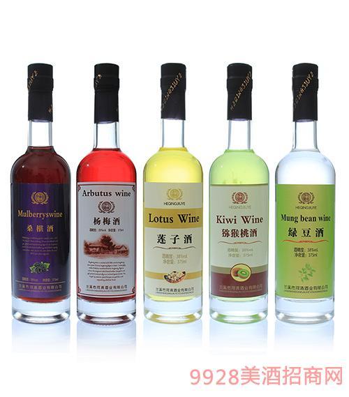 河清果酒28度375ml