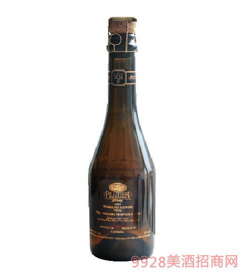 加拿大普瑞丽家族气泡维蒂尔冰白葡萄酒
