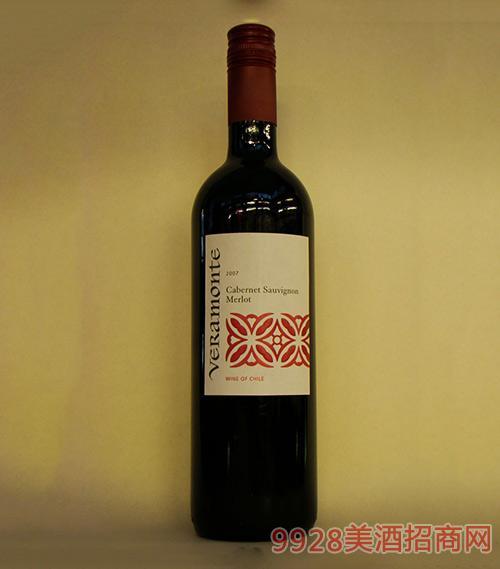 智利翠岭酒园赤霞珠梅洛红葡萄酒