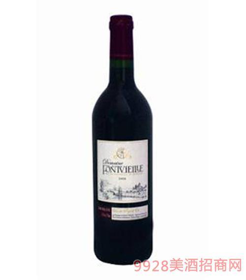 法国峰威丽梅洛干红葡萄酒