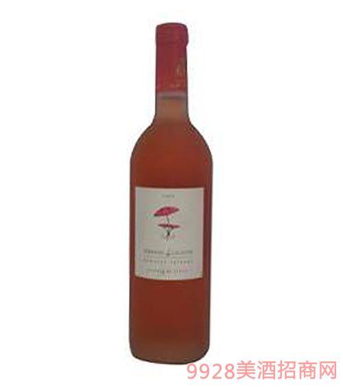 法国特拉萨德拉朗德桃红葡萄酒