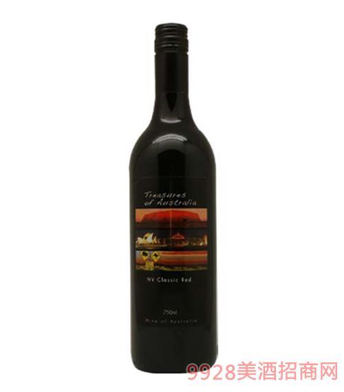 澳洲珍宝红葡萄酒