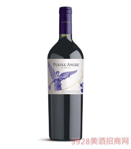 智利蒙特斯紫天使红葡萄酒