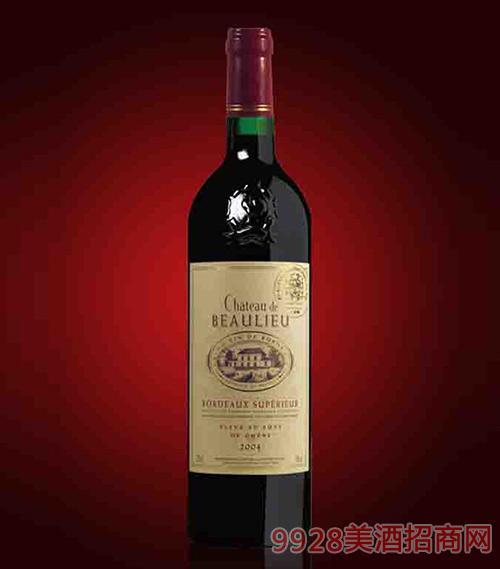 法国美地城堡超级波尔多红葡萄酒