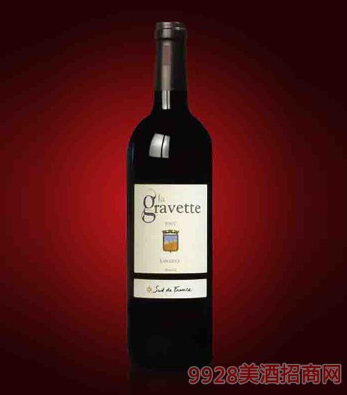 法国格维特红葡萄酒