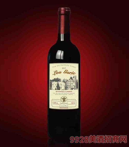 法国洛嘉克优质红葡萄酒