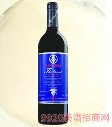 亚洲蓝标干红葡萄酒12度750ml