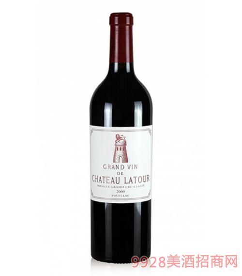 拉图庄园红葡萄酒2009