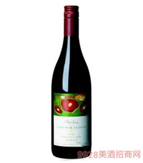 露纹酒园艺术系列设拉子干红葡萄酒