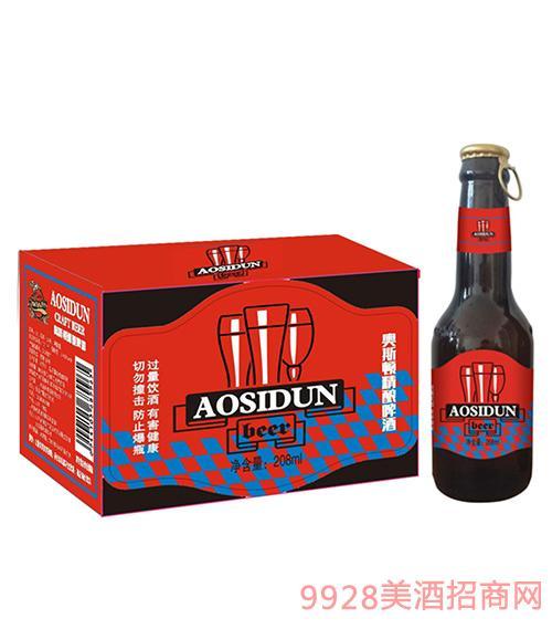 奥斯顿精酿啤酒208ml拉环