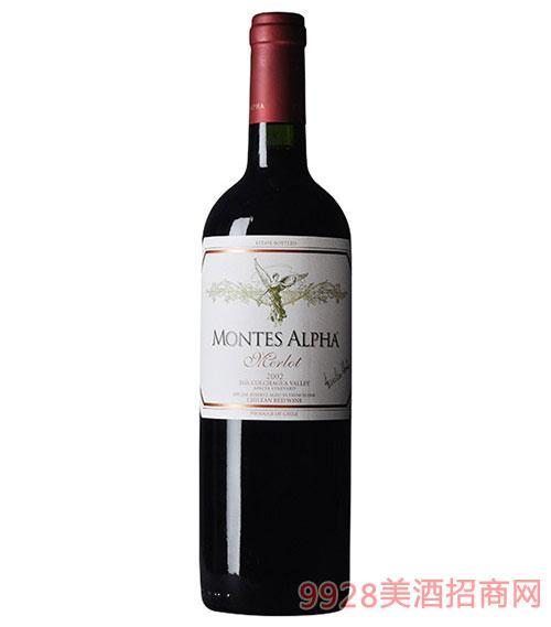 智利?#21830;?#26031;欧法梅洛干红葡萄酒
