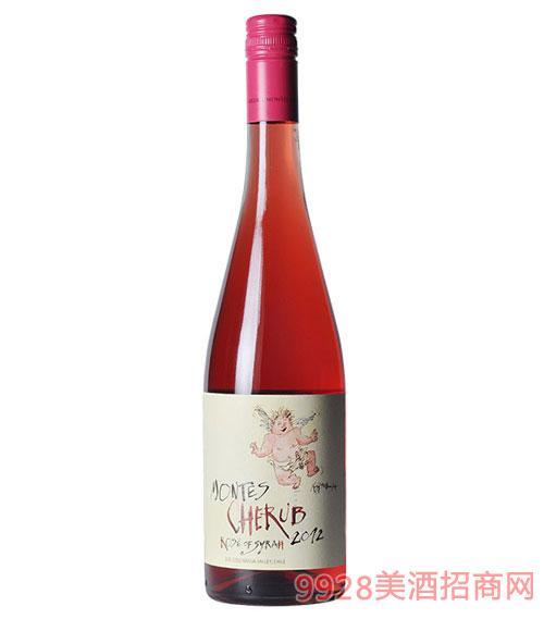智利?#21830;?#26031;小天使西拉桃红葡萄酒