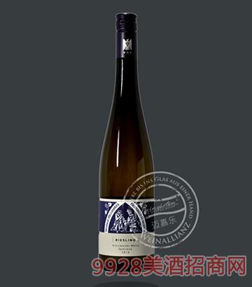 格莱斯维勒雷司令晚摘白葡萄酒