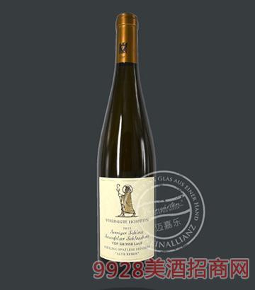 萨菲尔城堡雷司令老藤晚摘半干白葡萄酒