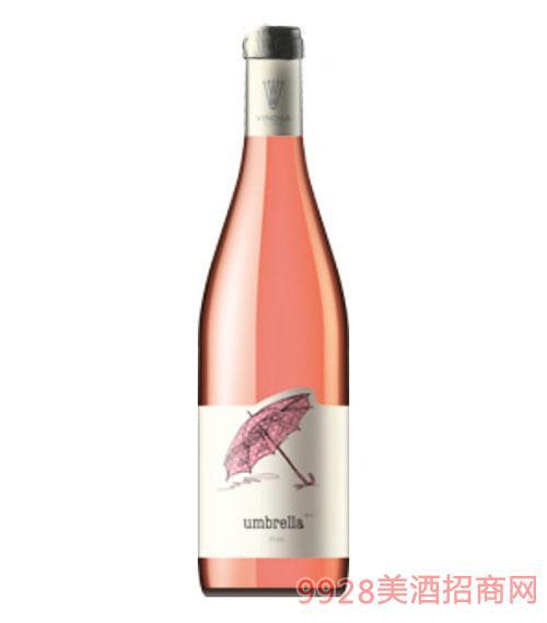 保加利亚赤霞珠雨伞桃红葡萄酒