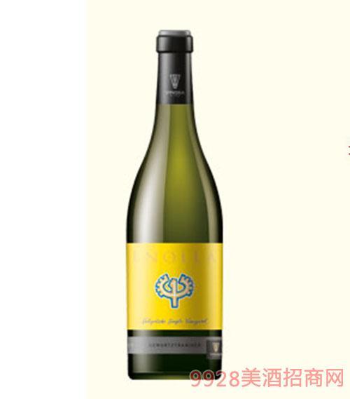 保加利亚恩诺拉琼瑶浆干白葡萄酒