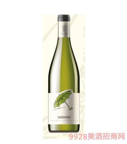 保加利亚原瓶进口小雨伞长相思、灰比诺干白葡萄酒餐酒