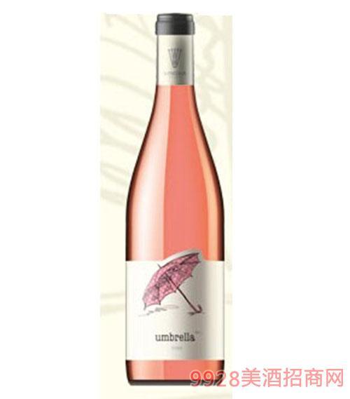 保加利亚原瓶进口雨伞赤霞珠桃红葡萄酒餐酒