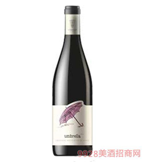 赤霞珠品丽珠混合雨伞干红葡萄酒