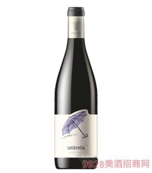 黑皮诺雨伞红葡萄酒