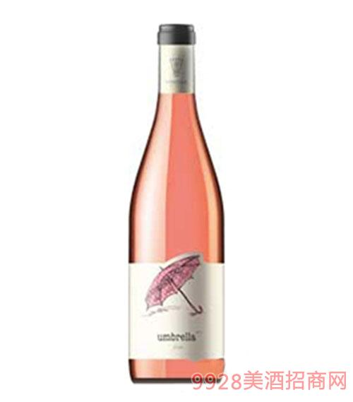 桃红雨伞葡萄酒
